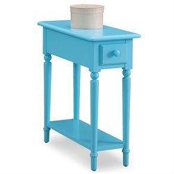 Leick Coastal Notions End Table with Shelf -SH