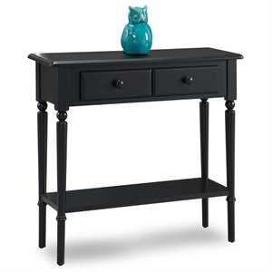 Leick Coastal Notions 2 Drawer Console Table with Shelf -SH1