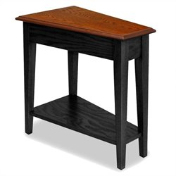 Leick Furniture Favorite Finds Recliner Wedge Table in Slate Finish