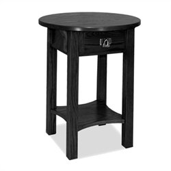Leick Furniture Anyplace Side Table in Slate Black Finish