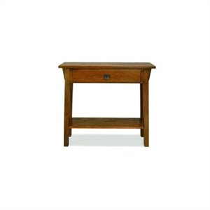 Leick Furniture Mission Console Table in Russet