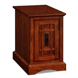 Leick Furniture Boulder Creek Mission End Table - Printer Stand