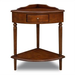 Leick Favotite Finds Corner Table in Russet