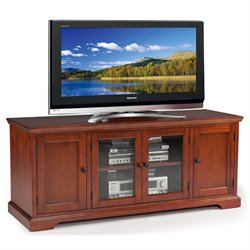Leick Furniture Westwood TV Stand in Brown Cherry