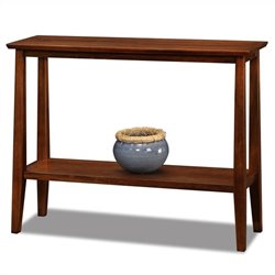 Leick Delton Solid Wood Hall Stand in Sienna