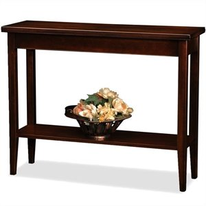 Leick Laurent Solid Wood Hall Stand in Chocolate Cherry