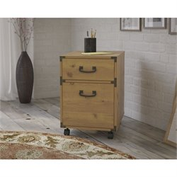 Kathy Ireland Office by Bush Ironworks 2 Drawer Mobile File Cabinet
