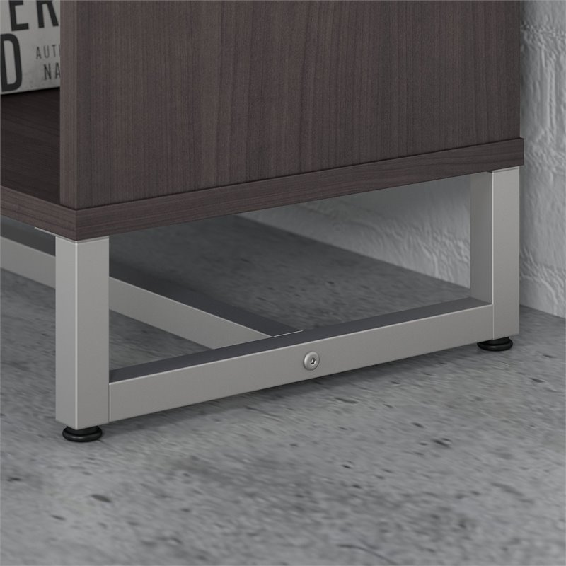 Office By Kathy Ireland Method 2 Shelf Bookcase Cabinet In