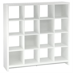 Kathy Ireland by Bush New York Skyline 16 Cube Room Divider Bookcase