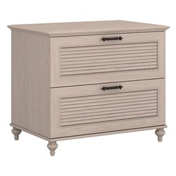 Kathy Ireland by Bush Volcano Dusk 2 Drawer File Cabinet in Driftwood