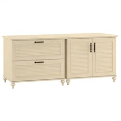 Kathy Ireland by Bush Volcano Dusk Storage Credenza