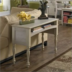 Kathy Ireland Office by Bush Furniture Volcano Dusk Laptop Sofa Table in Driftwood Dreams