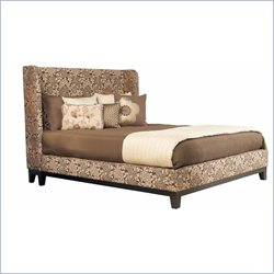angelo:HOME Marlowe Shelter Bed in Wendy Pepper - California King