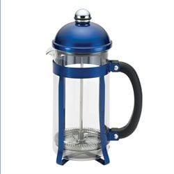 BonJour Coffee 8 Cup French Press in Blue