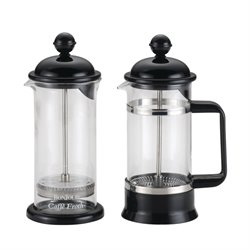 BonJour Coffee 3 Piece 3 Cup French Press Set in Black