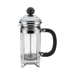 BonJour Coffee 3 Cup French Press in Stainless Steel