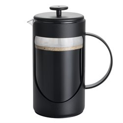 BonJour Coffee 3 Cup French Press in Black
