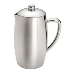 BonJour Coffee 8 Cup French Press in Stainless Steel
