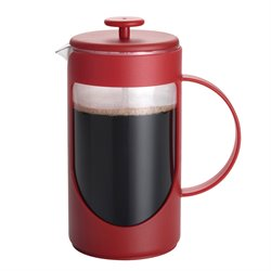 BonJour Coffee 3 Cup French Press in Red