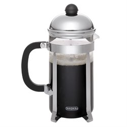 BonJour Coffee 12 Cup French Press in Stainless Steel