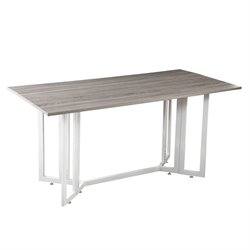 Holly & Martin Driness Drop Leaf Dining Table in White