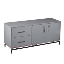Holly & Martin Mahlias TV Stand in Gray