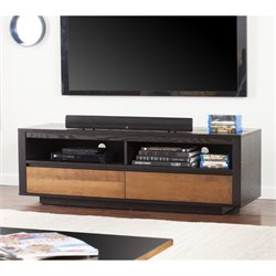 Holly & Martin Mosie TV Stand in Ebony and Dark Tobacco