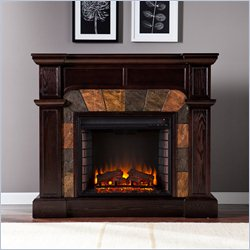Holly & Martin Cypress Electric Fireplace in Espresso