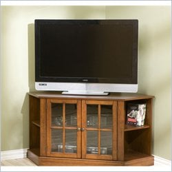 Holly & Martin Parkridge Corner Media Stand in Walnut