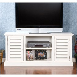 Holly & Martin Savannah Media Stand in Antique White