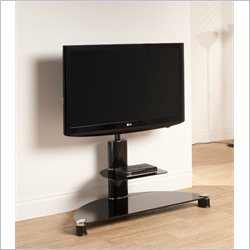 Tech Link Avatar TV Stand with Mount in Black