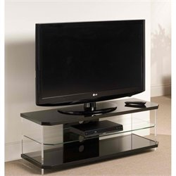 Tech Link Air Acrylic and Glass TV Stand in Black