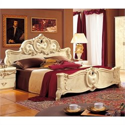 camelgroup Barocco Bed in Ivory - Queen