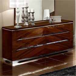 camelgroup Matrix Double Dresser in Dark Walnut