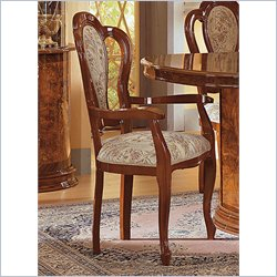 camelgroup Milady Arm Dining Chair in Walnut