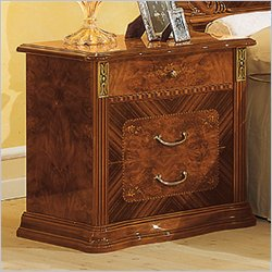 camelgroup Milady Nightstand in Walnut