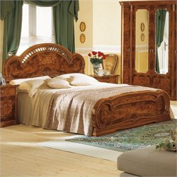 camelgroup Milady Bed in Walnut - Queen