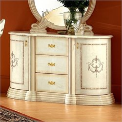 Camelgroup Rossella Two Door Buffet in Ivory