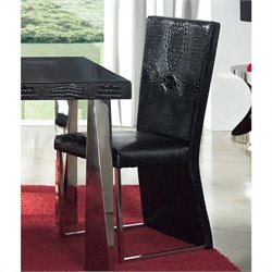 Dupen Coco Dining Chair in Black