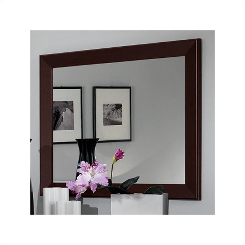 MCS Luxury Mirror in Wenge
