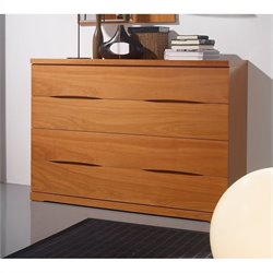 Benicarlo 114 Series 4 Drawer Dresser in Cherry
