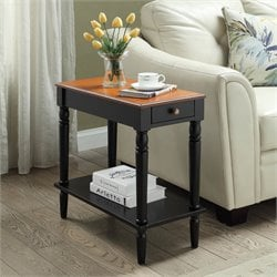 Convenience Concepts French Country End Table in Two Tone
