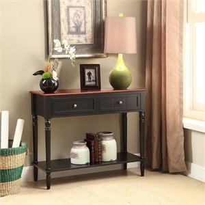 Console Table in Black Cherry