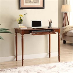 Convenience Concepts French Country Computer Desk in Espresso