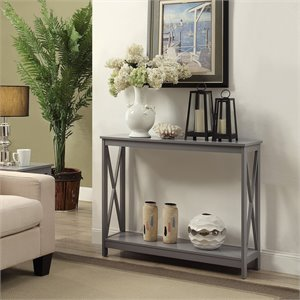 Console Table in Gray
