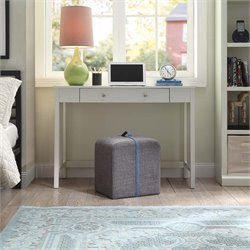 Convenience Concepts Designs4Comfort Crosby Foot Stool in Gray