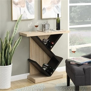 Bistro Console Table in Weathered White