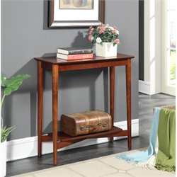 Console Table in Mahogany