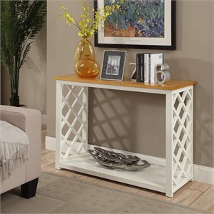 Console Table in White