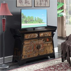 Console TV Stand in Black